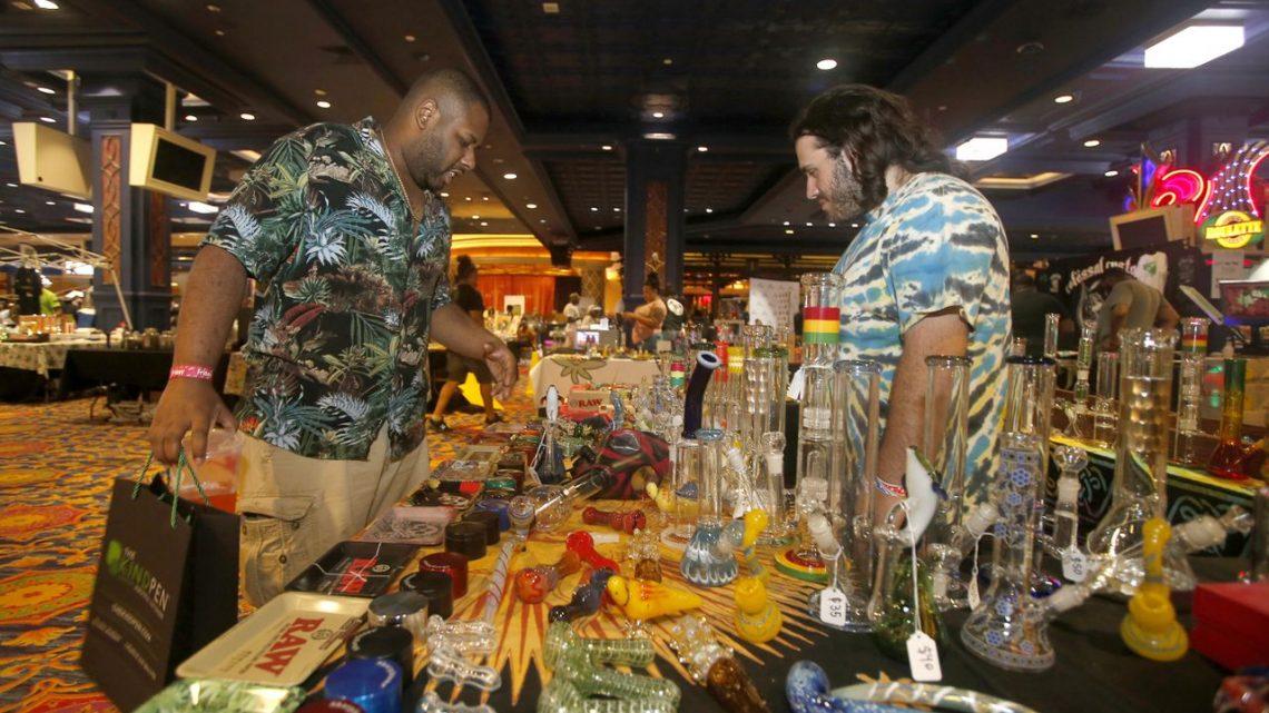 Verrerie, CBD, mode et plus.  L'hôtel d'Atlantic City organise une célébration du cannabis.