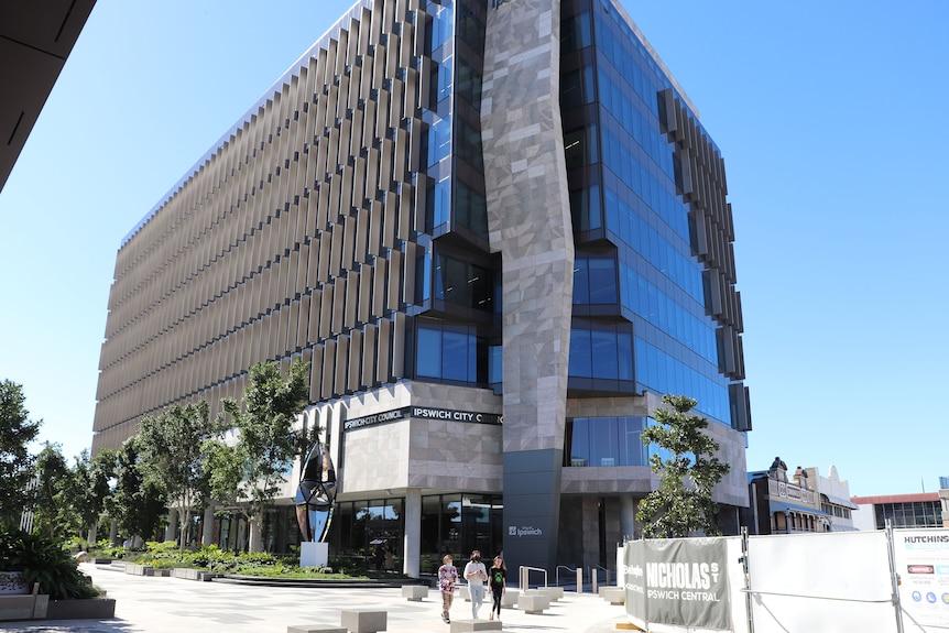 Le nouveau bâtiment du conseil municipal d'Ipswich