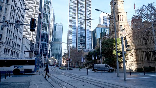Le verrouillage de Sydney devrait être prolongé de plusieurs semaines.  Photo : Jeremy Piper / NCA NewsWire