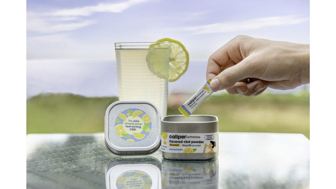 Caliper CBD annonce une nouvelle saveur de limonade Swiftsticks à tirage limité