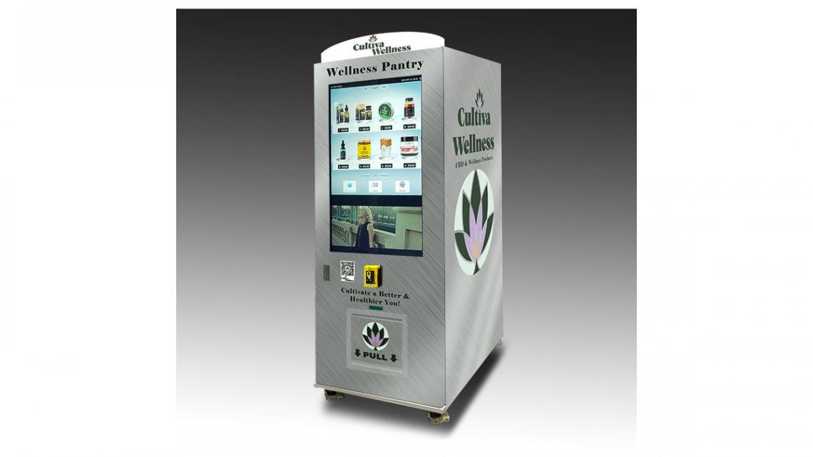 Cultiva Wellness dévoile un distributeur automatique de CBD avec vérification de l'âge