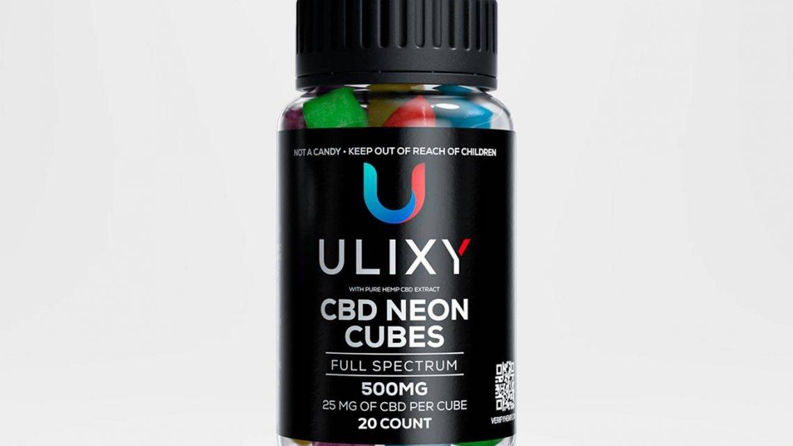 Examen des cubes au néon Ulixy CBD – Gummies CBD efficaces ou arnaque?