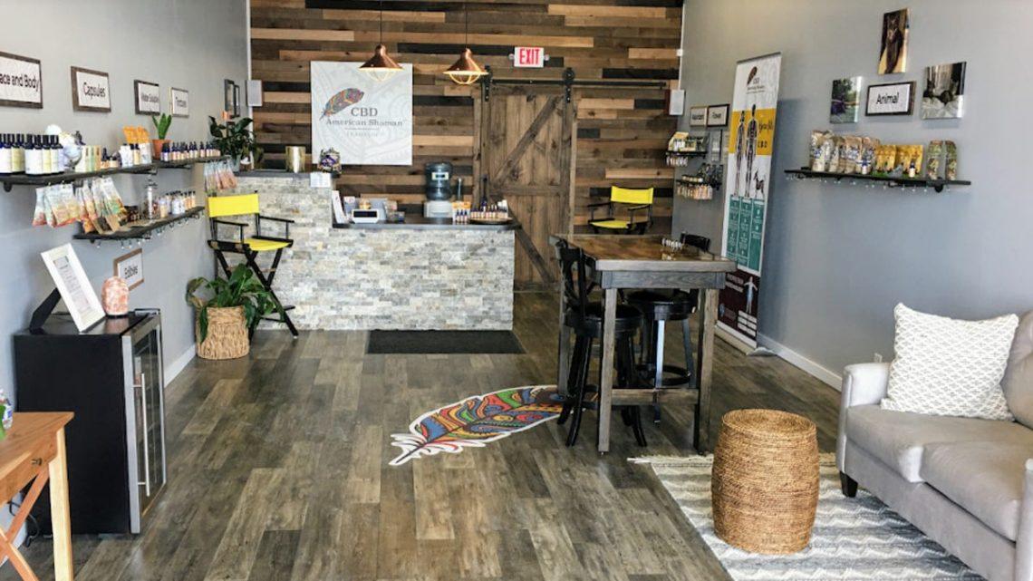 Franklin a une boutique CBD avec une sensation de «spa» qui propose des échantillons gratuits