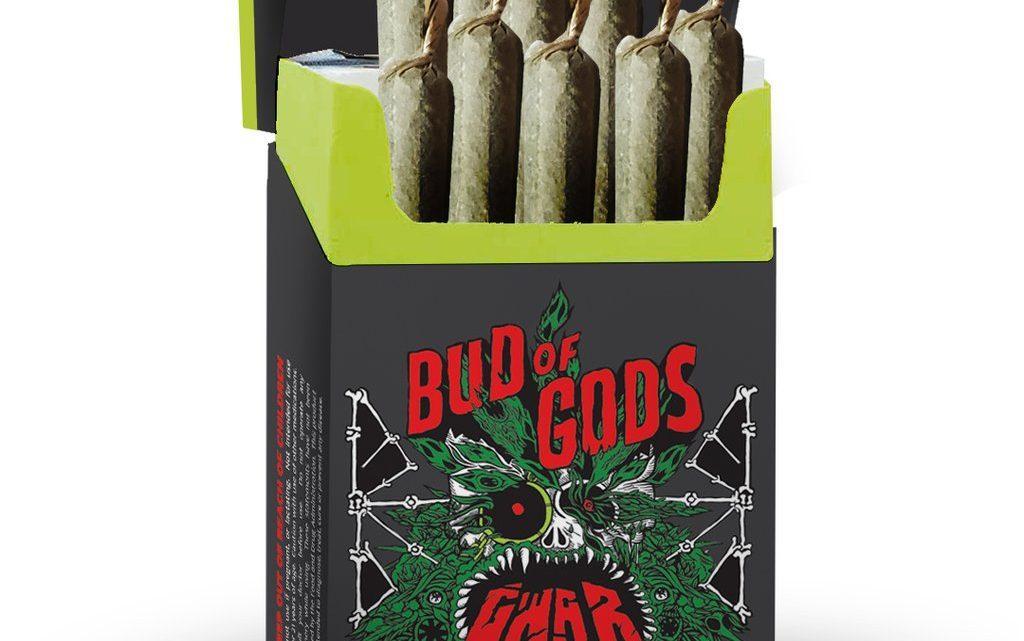 GWAR Bud of Gods pré-roulé CBD fume (10 unités)