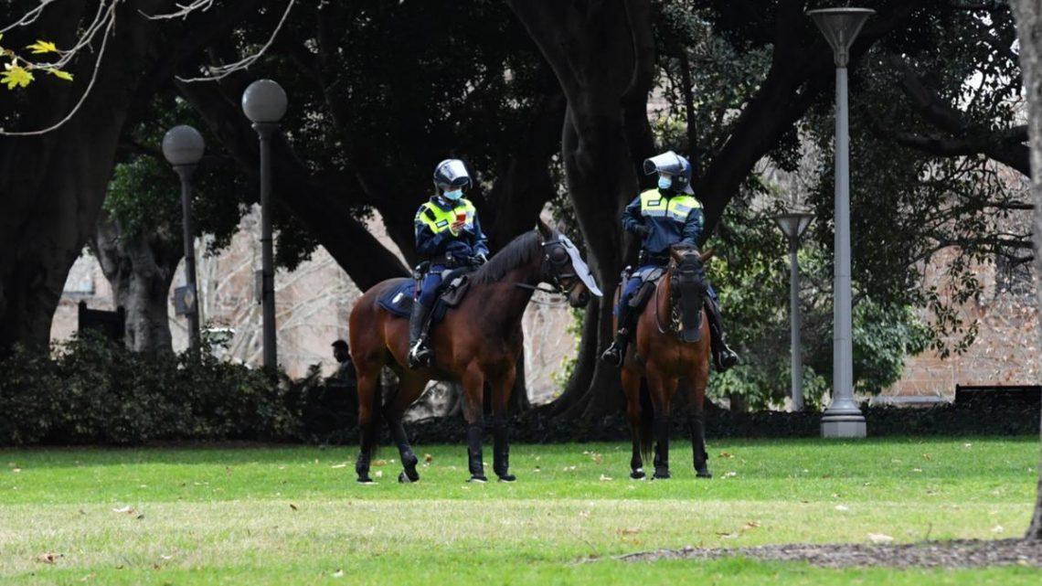 La manifestation de verrouillage de Sydney COVID ne se concrétise pas après la mise en place de la zone d'exclusion de la CDB