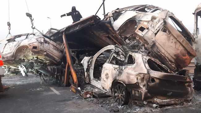 L'autoroute M2 fermée alors que les troubles balaient le CBD de Johannesburg