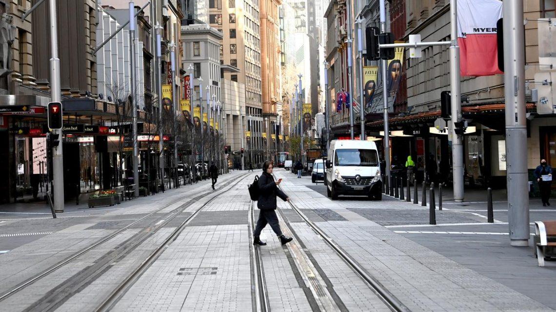 Le CBD de Sydney est presque vide alors que NSW enregistre 112 cas de Covid-19