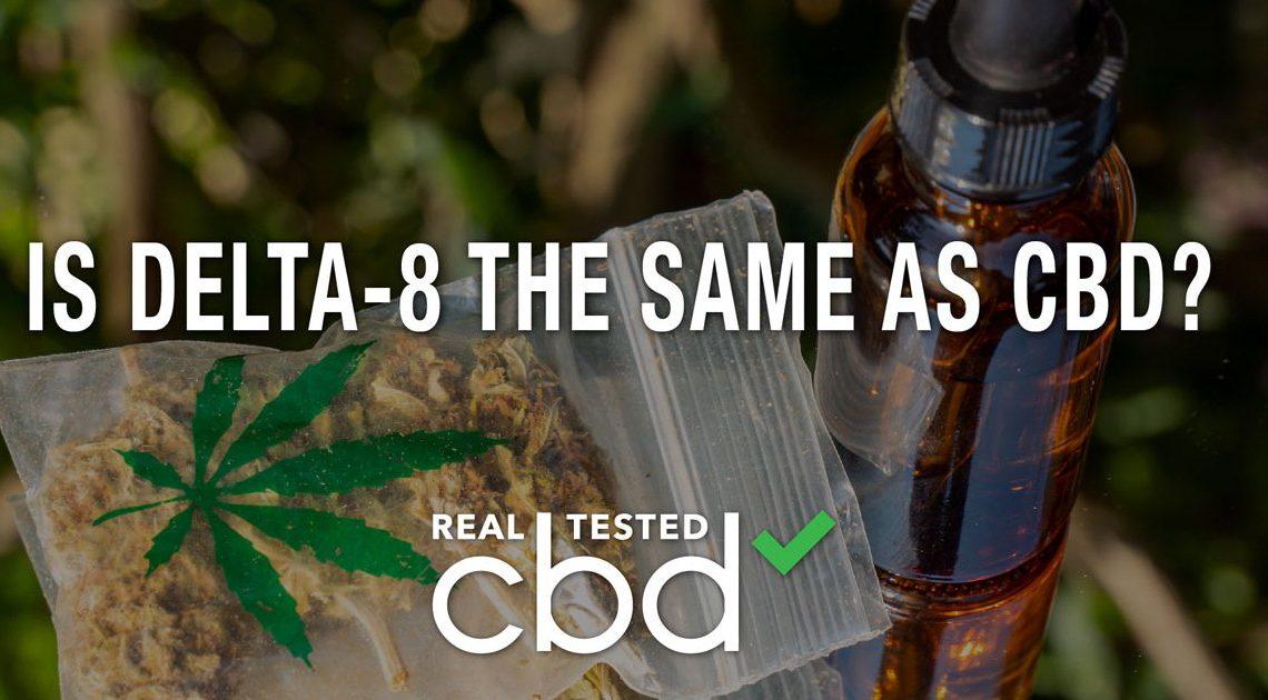 Le Delta-8 est-il le même que le CBD ?