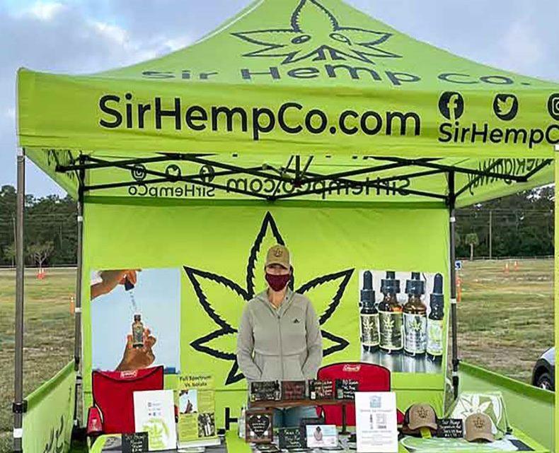 Sir Hemp Co. CBD Oils sera présent toute la saison au West Palm Beach Farmers Market
