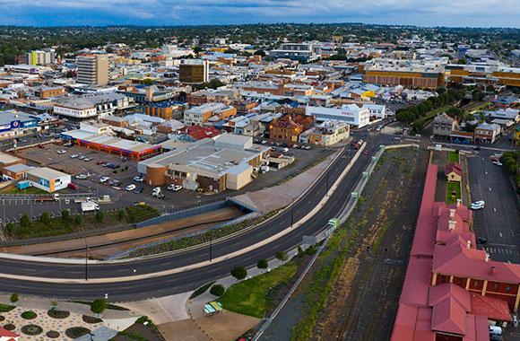 TRC approuve la politique temporaire d'incitation au développement du CBD de Toowoomba