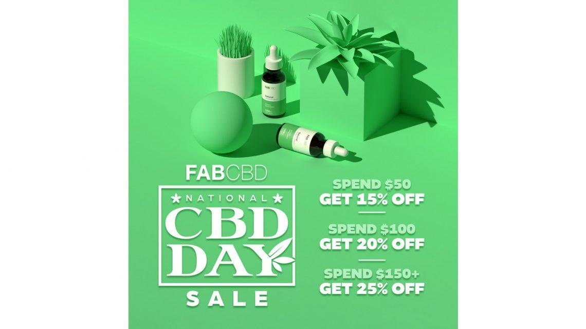 FAB CBD célèbre les clients et la communauté lors de la Journée nationale du CBD