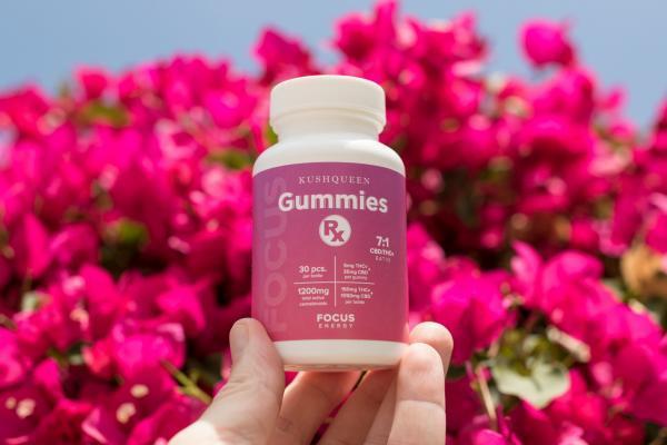 Gummies de Kush Queen, Wana, HempMeds et Extract Labs