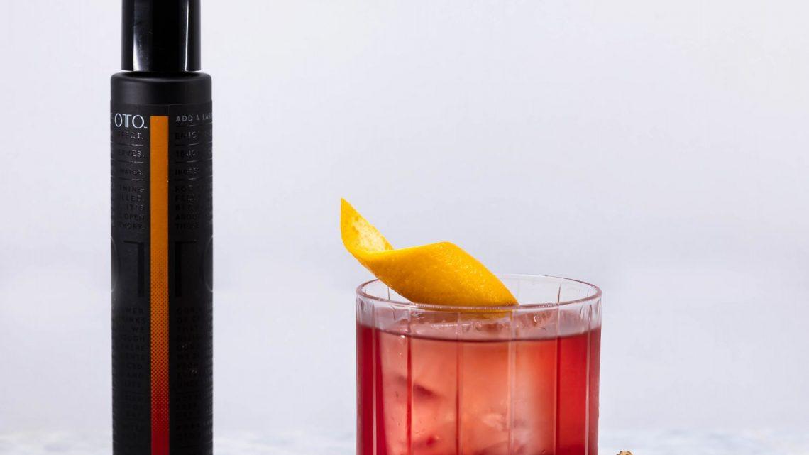 La marque CBD OTO organise un menu contextuel de cocktails à Hong Kong
