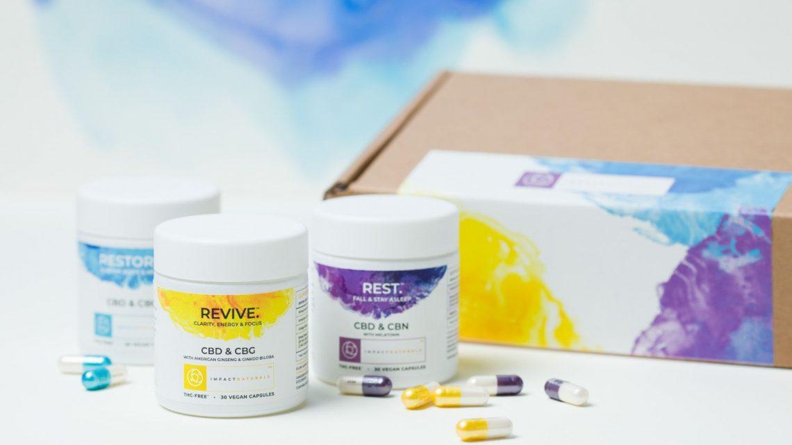 Le fournisseur de chanvre de marque privée Socati aide Impact Naturals à lancer une gamme de CBD à haute absorption