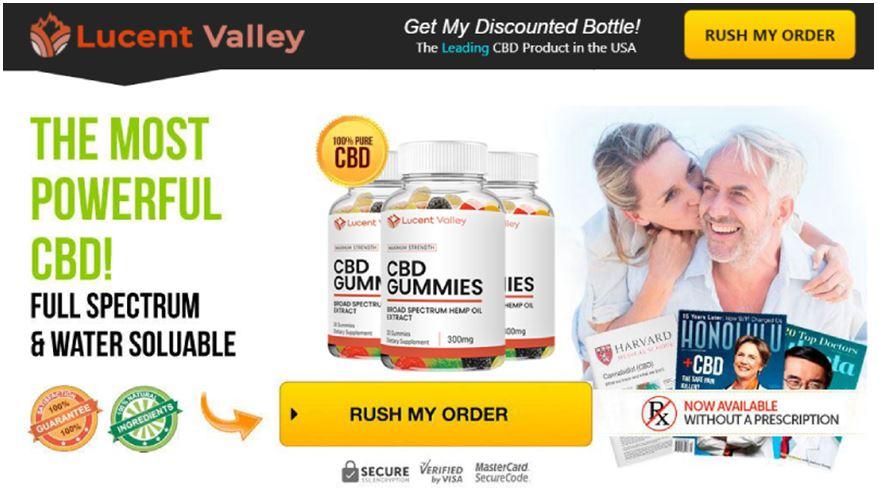 Lucent Valley CBD Gummies – [Only $59.68] Révisez «CANULAIRE OU HYPE» et achetez!