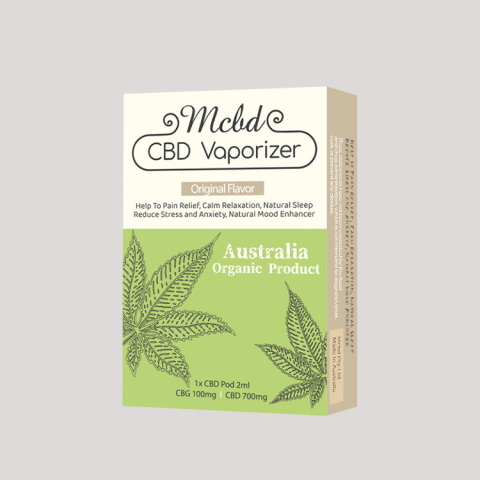 MCBD propose un vaporisateur CBD pour le soulagement de la douleur, la relaxation, le sommeil naturel, le soulagement du stress et de l'anxiété