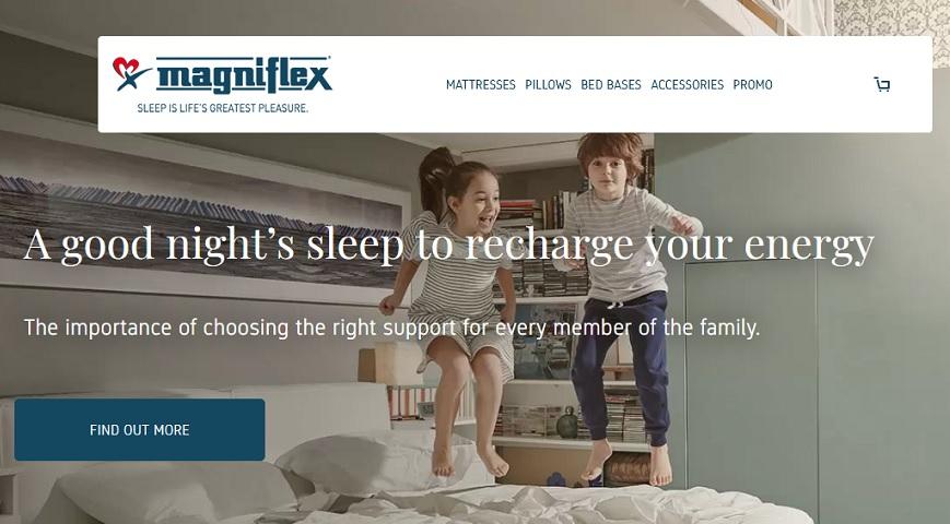 Magniflex rejoint la catégorie des oreillers CBD