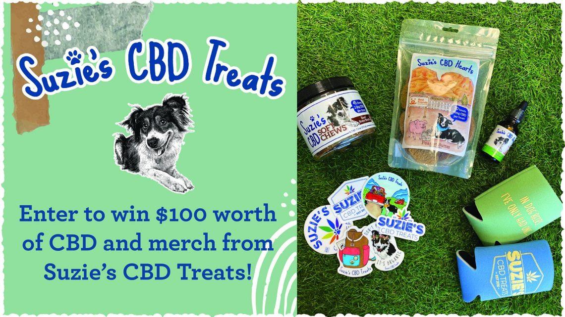 Participez pour gagner un ensemble cadeau de 100 $ du CBD de Suzie!