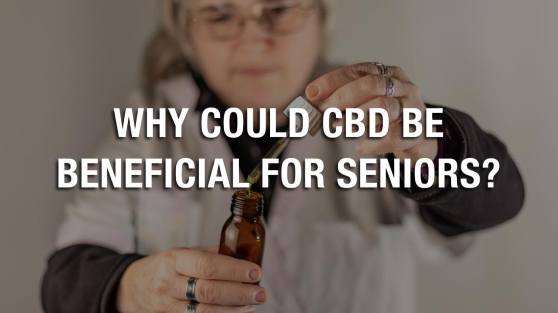 Pourquoi le CBD pourrait-il être bénéfique pour les seniors ?