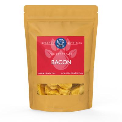 Friandises au bacon Redbone Nutrition pour votre chien.