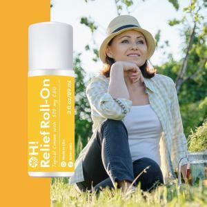 Oley Hemp Roll-on contient une combinaison cliniquement prouvée d'ingrédients actifs, notamment du menthol, du camphre et de l'arnica, et est infusé avec 500 mg d'isolat de CBD de qualité supérieure pour aider à soulager temporairement les douleurs mineures tout en nourrissant la peau.