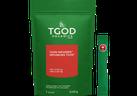 Les nouveaux infuseurs de THC de TGOD contiennent 10 mg de THC par sachet et, d'une manière ou d'une autre, une seule portion ne représente que 0,03 gramme de votre limite de 30 grammes.  Photo : Le Hollandais bio vert