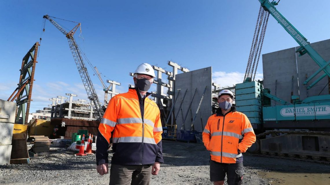 Le patron de la reconstruction du bloc CBD d'Invercargill espère que le temps perdu pourra être rattrapé