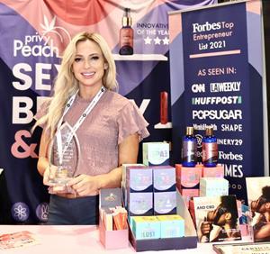 Privy Peach remporte le prix du produit innovant de l'année pour l'un des